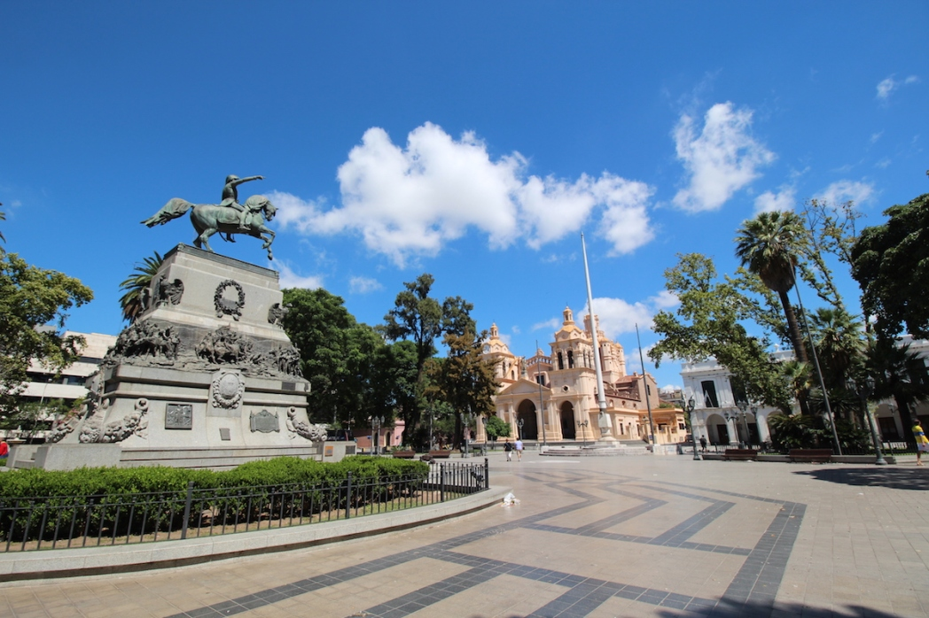 View from Plaza San Martin