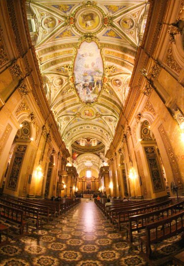 Inside the cathedral of cordoba